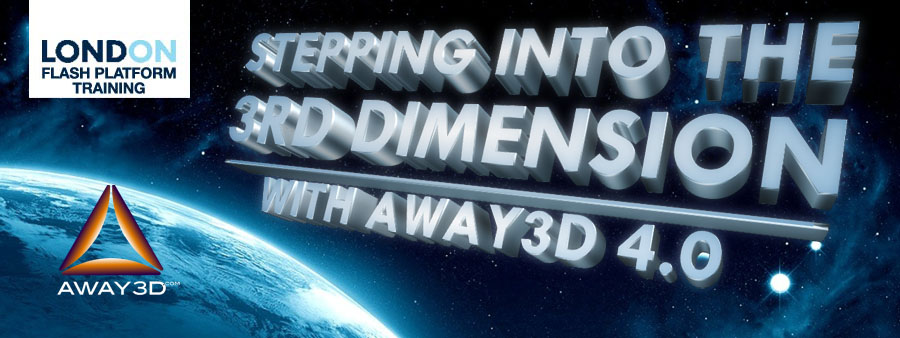 Stepping into the 3rd Dimension with Away3D 4.0