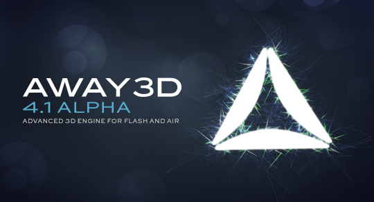 Away3D 4.1 Alpha released